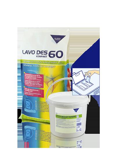 Kleen Purgatis Lavo Des 60 Kompakt (мешок 15 кг)